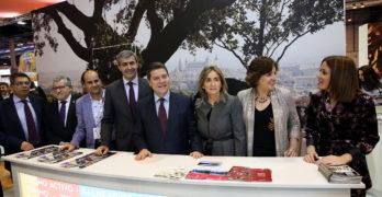 """Toledo se presenta en FITUR como una """"ciudad de futuro"""" con una """"amplia"""" oferta cultural"""