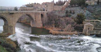 (VÍDEO) Enero de 2018 en el río Tajo en Toledo, contado en 30 segundos