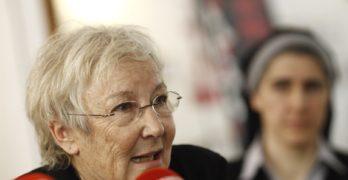 """Teresa Aranguren: """"Las mujeres palestinas nos pueden dar lecciones a las europeas, es importante apoyarlas"""""""