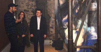 Marcos Álvarez expone 'Codex' en la Cámara Bufa de Toledo