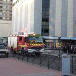 Un incendio obliga a desalojar el edificio del antiguo 'Mary' en Talavera durante el rodaje de 'Cuéntame'