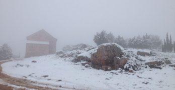 IMÁGENES | La nieve cubre de blanco buena parte de la provincia de Toledo