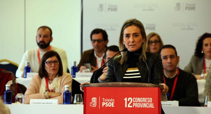 Milagros Tolón apela a la unidad del PSOE para ganar las elecciones de 2019