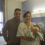 Noa fue la primera niña en nacer en Toledo este 2018