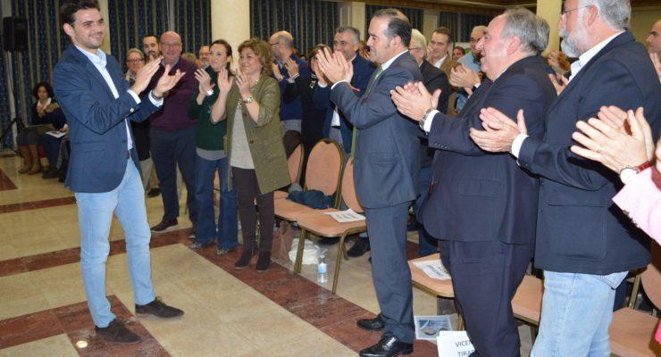 Santiago Serrano, elegido por unanimidad como nuevo presidente del PP de Talavera