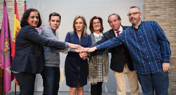 """Ayuntamiento y agentes sociales valoran los indicadores de Toledo y apuestan por un desarrollo que """"hace mucha falta"""""""