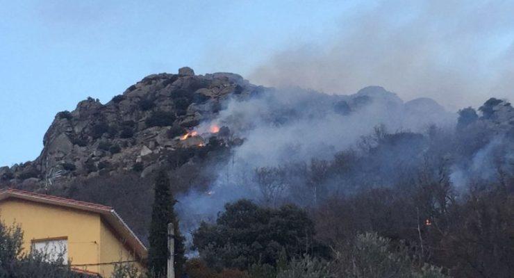 Extinguido el incendio en El Real de San Vicente, el primero del año en la provincia