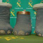 Incautados tres patas y un colmillo de elefante en Toledo