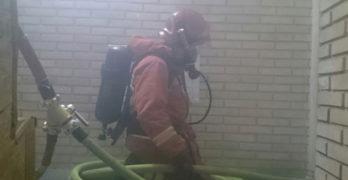 Un incendio arrasa un chalet en Santa Cruz de Retamar