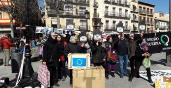 Toledo se moviliza para exigir el respeto de los derechos humanos de las personas refugiadas