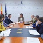Reunión Junta-alcaldes de La Sagra Alta y la Baja para impulsar la industria de la cerámica