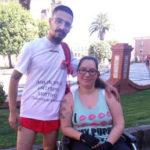 Irá de Talavera a Toledo en su silla de ruedas para reclamar más ayudas