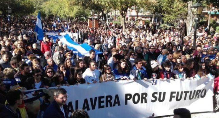 """La Mesa por la Recuperación de Talavera deja el Pacto """"en suspenso"""" y retomará las movilizaciones"""
