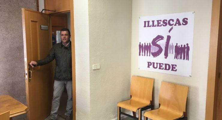 El concejal de Illescas Sí Puede recupera después de dos años el acceso a la sede del grupo