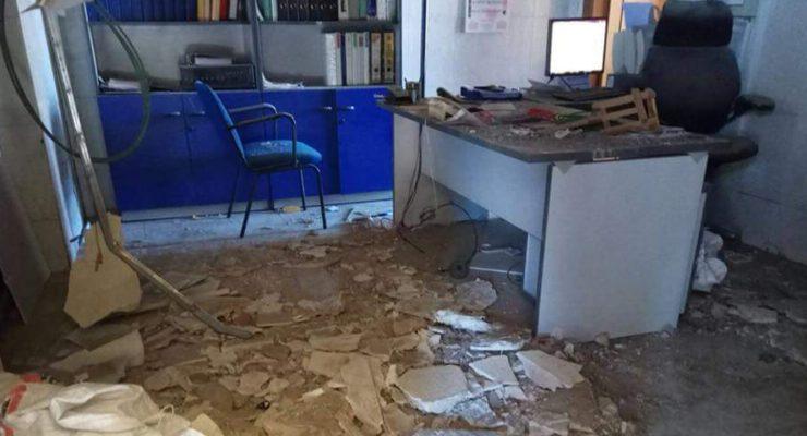 Se desploma el falso techo de la estación de tren en Torrijos