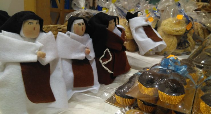 Tradición familiar, opciones para diabéticos y actividades culinarias en la III Feria del Dulce en Toledo