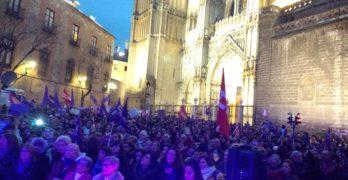 Miles de personas se manifiestan en Toledo en una jornada histórica del 8-M