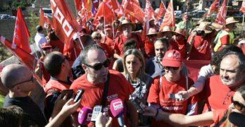 """Los sindicatos esperan mantener """"la llama del 8M"""" en la manifestación del sábado 17 por las pensiones"""