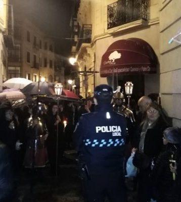 """Denuncian la anulación """"unilateral"""" de días libres de los policías locales de Toledo en Semana Santa"""
