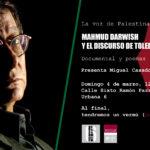 Toledo, punto de encuentro entre Palestina e Israel a través de Mahmud Darwish