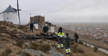 Consuegra cuantifica en dos millones de euros los daños causados por el temporal de viento