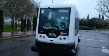 Talavera se anticipa al futuro con el primer vehículo autónomo conectado a la tecnología 5G