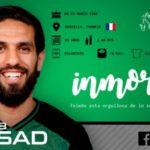 El CD Toledo confía en que la salud de Lassad Nouioui vaya evolucionando favorablemente
