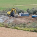 """Vecinos de Toledo denuncian la """"vulneración"""" de los protocolos para retirar el amianto en el Polígono"""