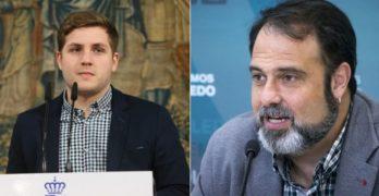 """Hernando reprocha a Ganemos que quiera """"torpedear"""" Puy du Fou y Mateo replica: """"Su futuro está más en el Club de la Comedia"""""""