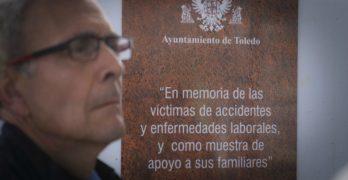 Toledo rinde homenaje a las víctimas de accidentes laborales