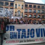 """""""Trasvases al carajo"""": la ciudadanía muestra su hartazgo con la nueva cesión de agua del Tajo al Segura"""