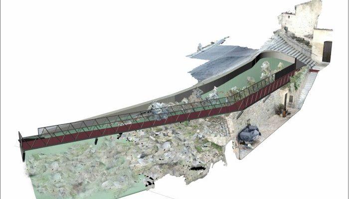 El proyecto de la pasarela a la ermita del Valle estará en información pública hasta el 17 de diciembre