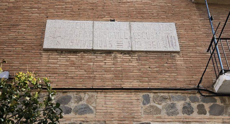El rastro del franquismo sigue presente en Toledo
