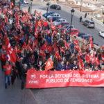 Miles de pensionistas reclaman un cambio de sistema y no descartan intensificar sus movilizaciones