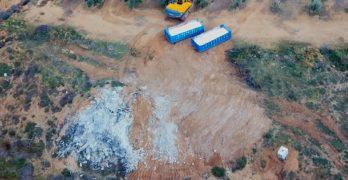 """Paralizada la retirada del amianto en una parcela del barrio del Polígono por razones """"técnicas"""""""