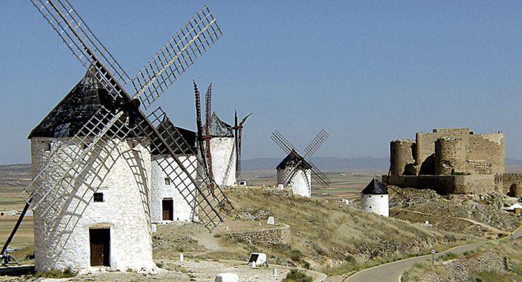 Los molinos de Consuegra consiguen el apoyo unánime de las Cortes