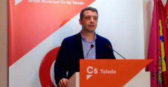 """Cs Toledo pide """"valentía"""" para un nuevo contrato de limpieza y basura y rechaza el bolseo en el Casco"""