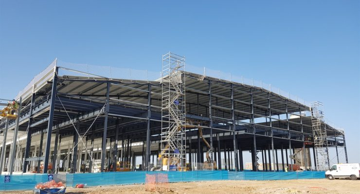 """Bell Food Group """"cumple los plazos de construcción"""" de su nave en Fuensalida"""