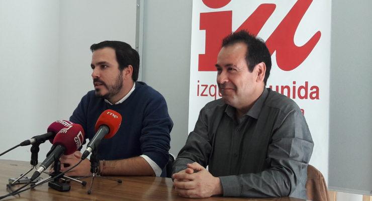 """Alberto Garzón llama a la confluencia de IU con muchos actores sociales: """"No solo con Podemos"""""""