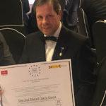 El profesor José Manuel García (UCLM), Medalla de Oro Europea al Mérito en el Trabajo