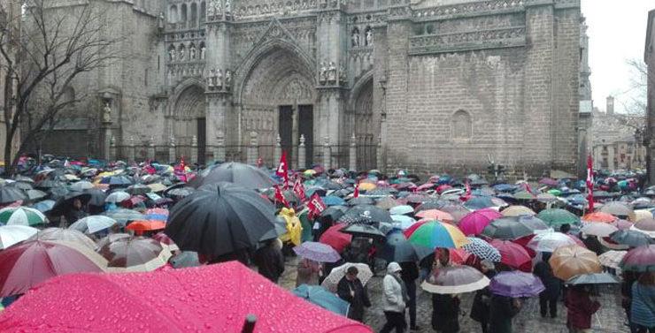 Nueva movilización por la reforma de las pensiones el 16 de abril en Toledo