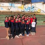 El Club Deportivo de Patinaje Artístico de Toledo recoge firmas para techar la pista donde entrenan