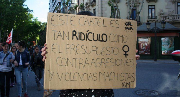 El feminismo exige a Rajoy los 200 millones pactados contra la violencia machista