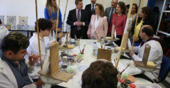 Inaugurado 'Manos Artesanas', un centro ocupacional en el que realzar la cerámica de Talavera