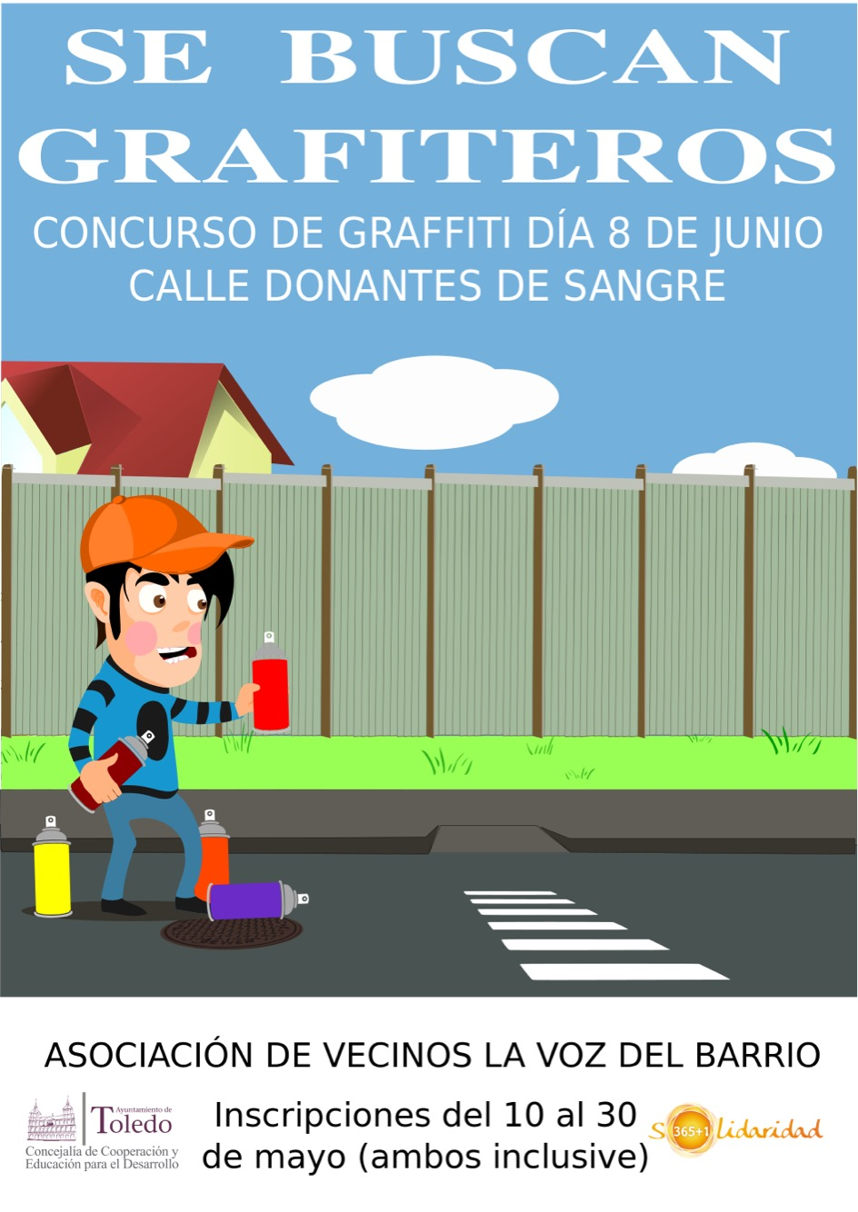 Tienes alma de Banksy? Convocan un concurso de graffitis solidarios ...