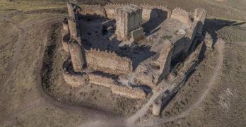 El castillo de Almonacid de Toledo ya puede visitarse a vista de dron