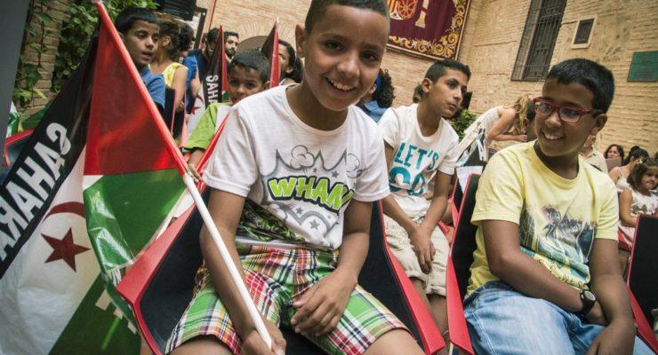 'Vacaciones en Paz' anima a las familias a acoger a niños saharauis este verano