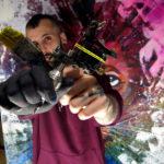Pablo Ortiz y el tatuaje sobre lienzo, ¿una nueva disciplina artística?