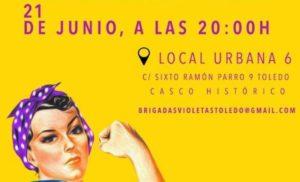 Organizaciones feministas preparan 'brigadas violeta' para evitar agresiones machistas en las fiestas de Toledo