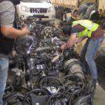 Desmantelan una organización criminal dedicada al robo y despiece de coches de lujo